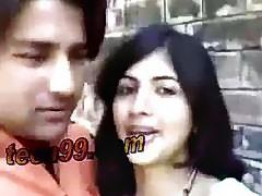 Indian boyfriend girlfriend homemade sex - teen99*com