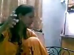 Desi newly married couple homemade