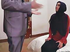 Mega hot Arab slut fucked hard by the horny dude